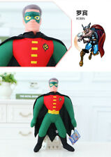 45CM MARVEL HERO ROBIN ACTION FIGURES KIDS CHILD DOLL PLUSH SOFT STUFFED TOY