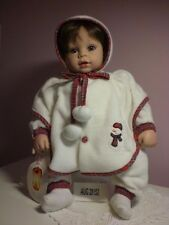 Adora Dolls - Name Your Own Baby - BrownHair, Blue eyes, wearing Christmasoutfit