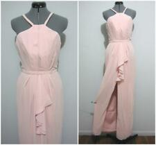"MIA SOLANO ""NWT"" Evening Formal DRESS Sz 6 - 8 RUM PINK Bridal Cocktail rrp$250"
