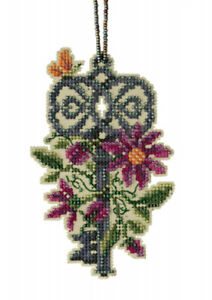 10% Off Mill Hill Counted X-stitch/Bead Kit - Mandala Quartet - Spring Key