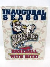 Mahoning Valley SCRAPPERS Inaugural Season Program 1999 w/Scorecard & Much More