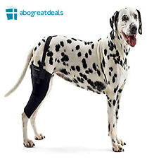 Rehab Knee Brace for XL Dogs Elastic Support Protector Canine Health RIGHT LEG