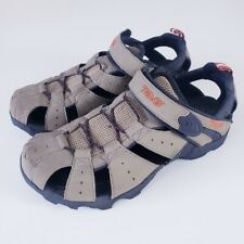 Teva Men's Deacon Brown Tan Fisherman 6968 Sport Sandals Shoes Size 9