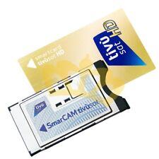tivu SAT smarcam HD ci-module incl. tivu SAT Card for Rai canale5 italia1 LA7 K2