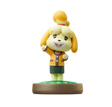 NEW Nintendo 3DS Wii U Amiibo Isabelle Shizue Animal Crossing Japan Import F/S