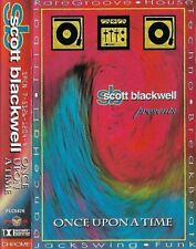 SCOTT BLACKWELL ONCE UPON A TIME CASSETTE ALBUM ELECTRONIC Breakbeat House