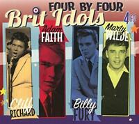 Cliff Richard Adam Faith Bill Fury Marty Wilde - Brit Idols (NEW 4CD)