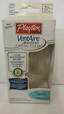 Playtex Ventaire Adv Crystal Clear Bottle, 6 oz, Wide w/ Slow Flow Nipple -3Pack