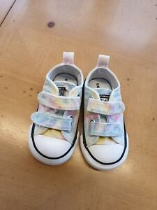 Converse ALL Star Baby Girl's Canvas Trainers Size 5 Infant