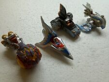 Skylanders Vehicles X4 Bundle Lot Skylanders Ships Cars Activision 2015