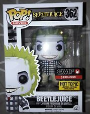 Beetlejuice Checked Shirt Funko Pop Vinyl Figure Hot Topic Exclusive Movies #362