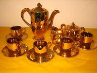 VINTAGE GENUINE SAMURAI CHINA GOLD COFFEE SET for 5,  Reg 539405 (1.2/433)