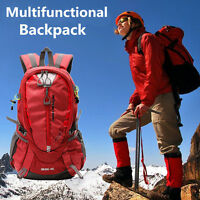 40L Impermeable Mochila Outdoor Acampada senderismo Deport Travel Pouch Backpack