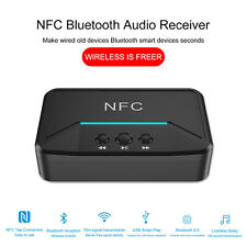 Wireless Bluetooth 5.0 Receiver RCA aptX LL NFC 3.5mm Jack Aux USB Audio Adapter