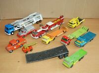 JOBLOT of CORGI / MATCHBOX / LESLEY TRUCKS ETC