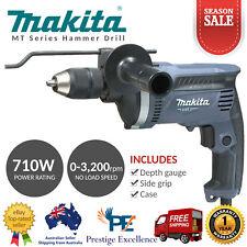 Makita M8101KG 240V 710W 13mm Variable Speed Keyless Chuck Hammer Drill Drilling