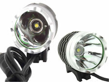 LUCE BICI MTB ENDURO OFF ROAD  TORCIA CREE LED 1200LM + BATTERIA LITIO