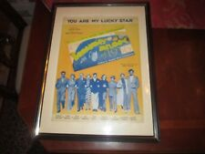 (1936) THE BROADWAY MELODY OF 1936 MOVIE POSTER - ORIGINAL - FRAMED - FANTASTIC!
