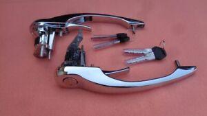 Türgriff Chrom Set rechts / links passend für Porsche 911  Baujahr 69-77