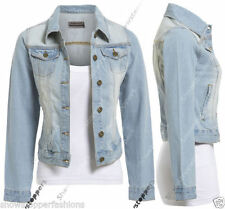 Casual Denim Coats & Jackets for Women