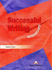 Express Publishing SUCCESSFUL WRITING INTERMEDIATE / Virginia Evans @NEW BOOK@