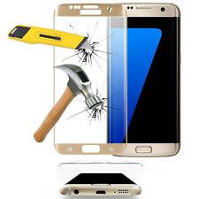 Film en VERRE Trempé Bord Incurvé JAUNE Samsung Galaxy S7 edge G935F/ G935FD