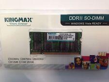 SODIMM DDR2 2GB SODIMM 200pin 800MHz New Sealed Kingmax