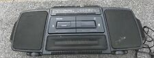 Vintage Philips Boombox - Retro Portable Stereo - Radio, Twin Cassette