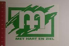 Aufkleber/Sticker: Met Hart en Ziel (28121684)