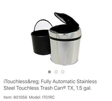 New In Box Itouchless Trash Can 1.5 Gallon