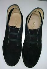 NEW Sz 10 POLO RALPH LAUREN JOPLIN BLACK SUEDE CHUKKA BOOTS/HI SNEAKERS SHOES