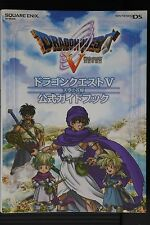 JAPAN Dragon Quest V Hand Heavenly Bride Official Guide Book