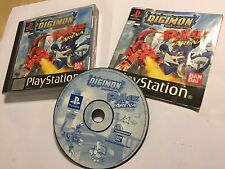 DIGIMON DIGITAL MONSTERS RUMBLE ARENA PS1 PLAYSTATION 1 PSone GAME COMPLETE PAL