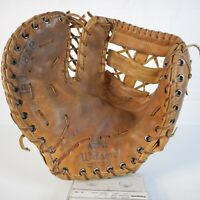 Vintage Wilson 2 Finger Leather Professional Baseball Glove A2752 LHT