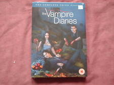 THE VAMPIRE DIARIES SEASON 3 5 DISC DVD SEALED/NEW