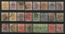 Orange River Collection 24 Stamps Used