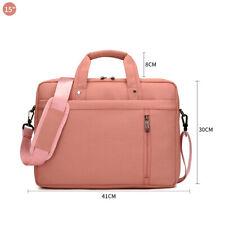 15 Inch Laptop Notebook Tablet Shoulder Messenger Bag Handbag Men Women Pink