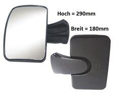 Zusatzspiegel Rampenspiegel Bordsteinspiegel Reisemobil Hymer 290mmx180mm R300°
