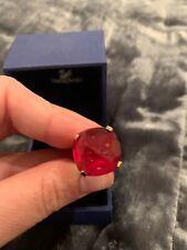 Swarovski Ring Pink and Gold