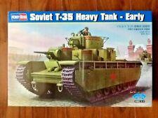 HOBBY BOSS 1/35 WW II RUSSIAN T-35 HEAVY TANK ( EARLY ) MODEL KIT # 83841 F/S