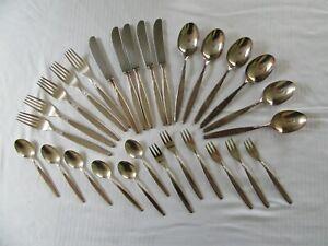 Altes WMF Patent Besteck 90-45 90-18 Rom Silber versilbert 28tlg. Friodur Messer