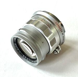 Leica 50mm Summicron f2 Nr. 2160425