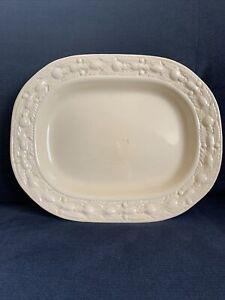 Antique Adams Royal Ivory Titian Ware Serving Platter, Pattern 70566 Circa 1921