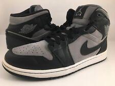 Air Jordan 1 Phat Cool Grey / Black / White 364770-023 Size 10.5