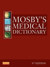 Mosby's Medical Dictionary by Mosby (2013, Hardcover, 9th edition)