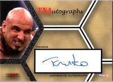 TNA Tyson Tomko 2008 Impact SILVER Authentic Autograph Card