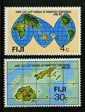 Fiji   1977   Scott # 374-375   Mint Lightly Hinged Set