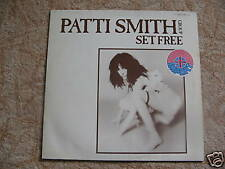 MAXI SP PATTI SMITH - SET FREE / très bon état