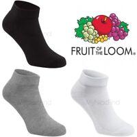 Fruit of the Loom Quarter Socks (3 Pairs)