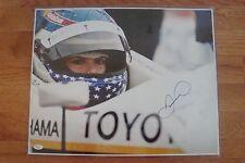 RARE DANICA PATRICK Signed Auto 16 X 20 Photo NASCAR IRL RACING COA JSA PROOF